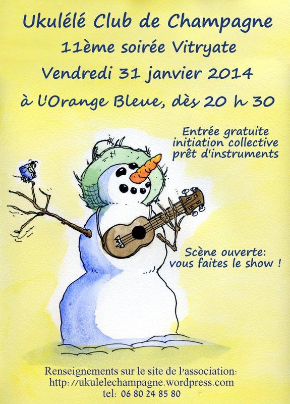affiche-ukulele-snowman