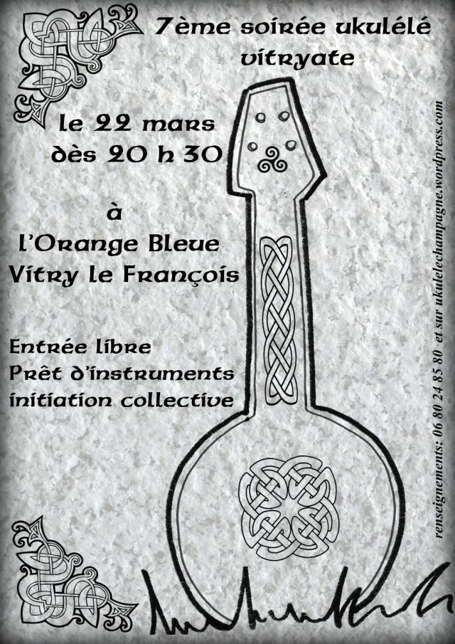 celtic uke affiche