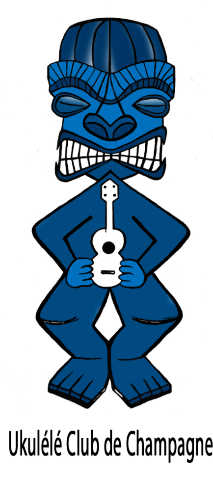Tiki bleu