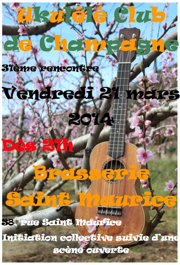 Affiche 31 mars 2014
